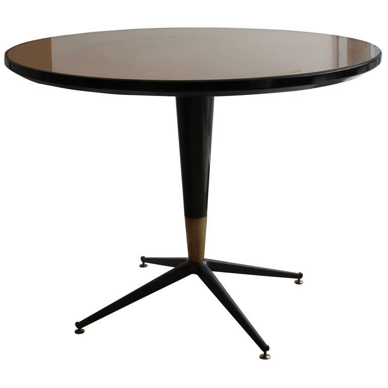 Centre Table with Sunburst Design Top. Italian, 1950s