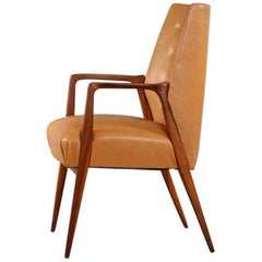 Charming Armchair by Architect Carl Appel, Vienna, 1956