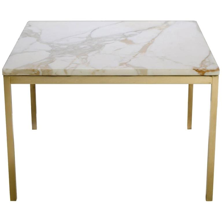 Florence knoll coffee table with calacatta marble 24 Florence knoll coffee table