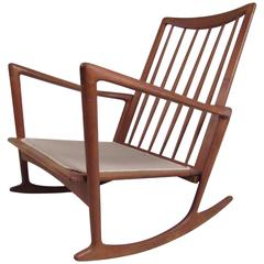 Danish Teak Rocker by Selig