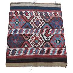 Turkish Kilim Antique Rug, circa Early 1900s