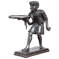 Unusual Antique Blackamoor Figure