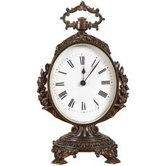 Small Ornate French Clock