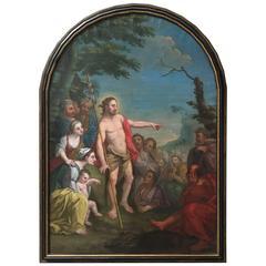 18th Century Painting of St. Raymond Nonnatus MOVING SALE!