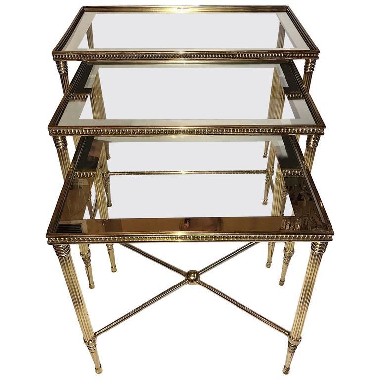 Gilt Neoclassic Nesting Tables