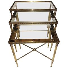 Gilt Neoclassic Nesting Tables