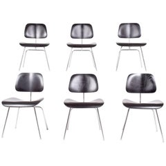 Six DCM Charles Eames for Herman Miller