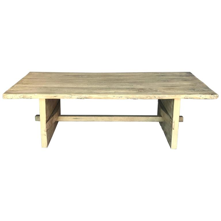 Japanese Elm Coffee Table For Sale At 1stdibs