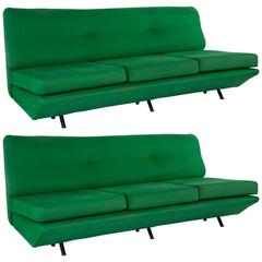 """Pair of """"Sleep-o-matic"""" Sofa Beds by Marco Zanuso for Arflex, 1951"""