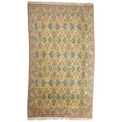 Rare Old  Cuenca Carpet from Spain