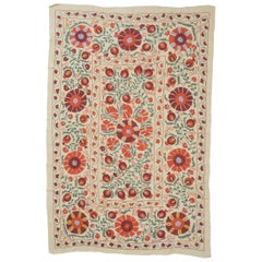 Susani Silk  Embroidery, Suitable for Bed or Table Cover or Wall hanging