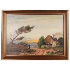 Rural Panorama Painting by Bruno Bielefeld