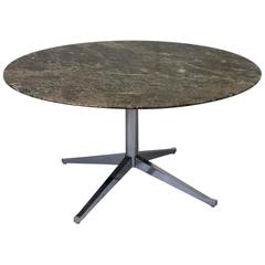 Florence Knoll Round Marble Table