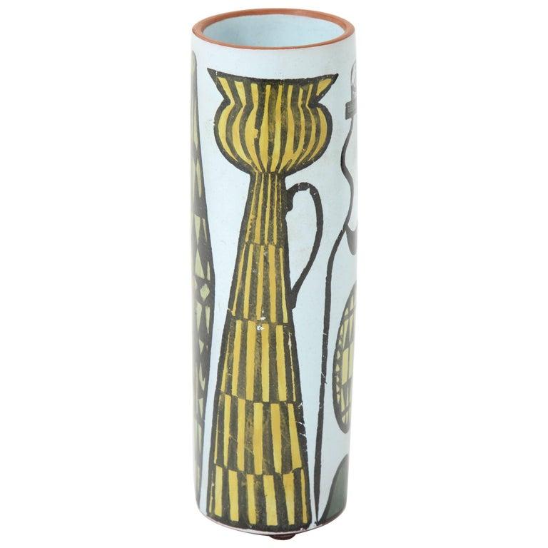 Ceramic Vase by Stig Lindberg, Sweden, C 1950 For Sale