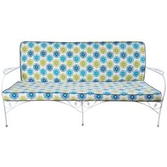 Vintage Wrought Iron Sofa