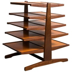 Mid-Century Magazine Table in the Manner of Edward Wormley