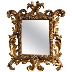 Fabulous 18th Century Italian Baroque Mirror