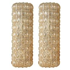 Helena Tynell Rectangular Bubble Glass Sconces
