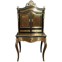 French 19th Century Boulle Dressing Table