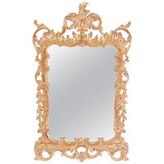Labarge Rococo Style Hand-Carved Italian Mirror, 1980