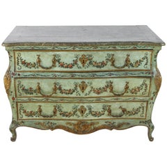 18th Century Venetian Painted Commode
