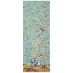 Schumacher Miles Redd Brighton Pavilion Chinoiserie Multi-Color Wallpaper Panel
