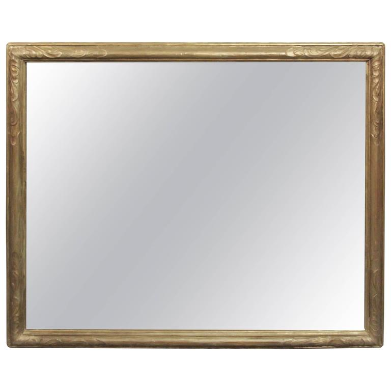 Large Turn of the Century Mirror