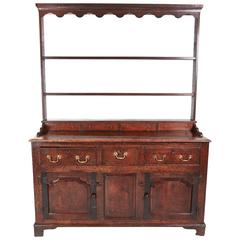 Early 18th Century Oak Welsh Dresser