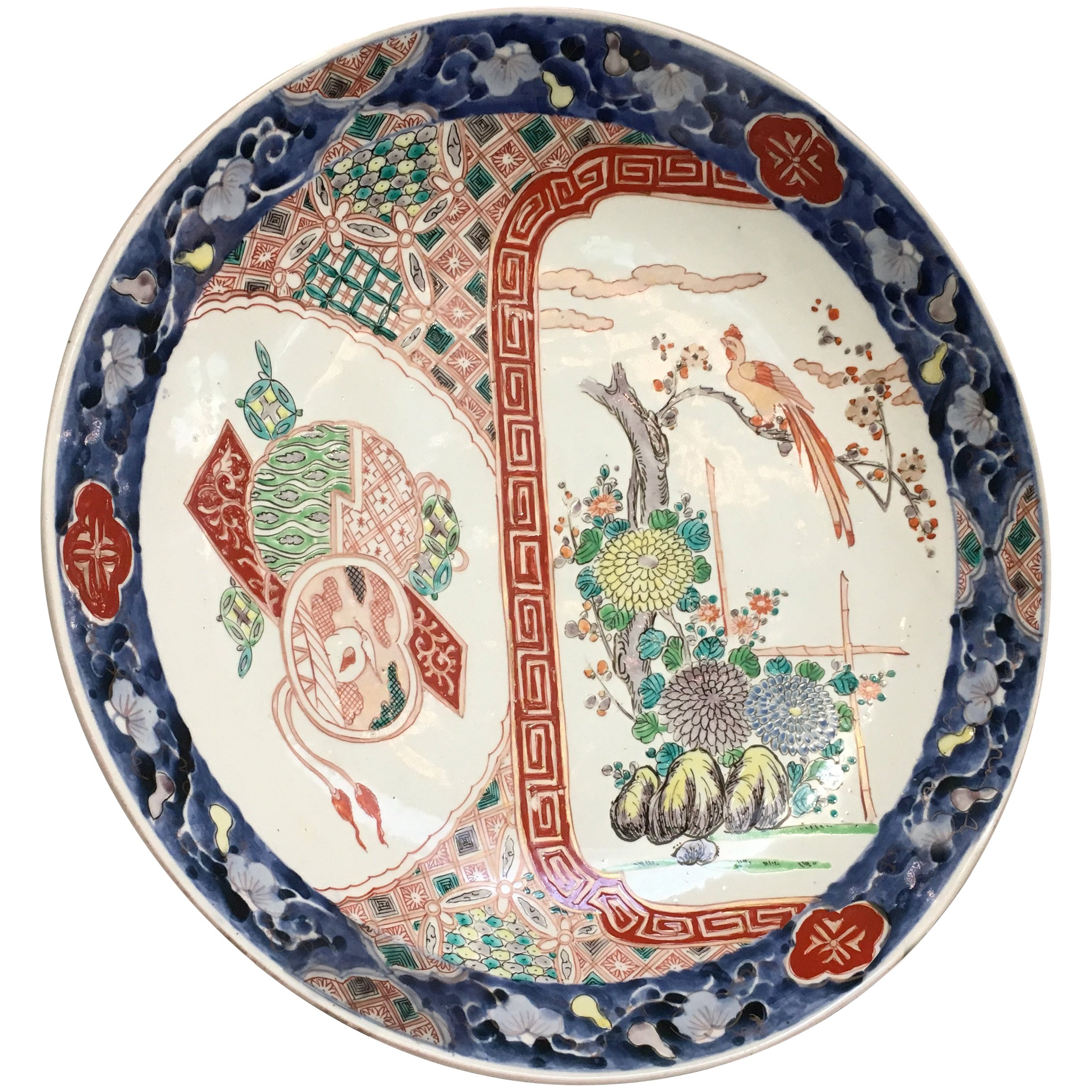 Japanese Imari Charger, Meiji Period, Late 19th Century