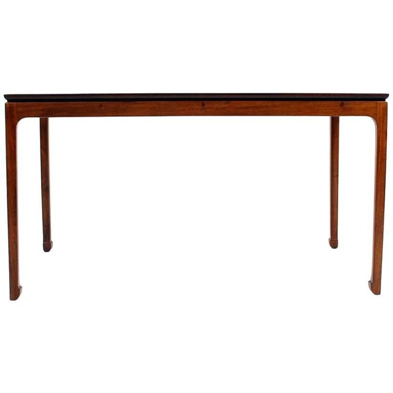 Ole Wanscher Coffee Table in Cuban Mahogany for A. J. Iversen, Denmark For Sale