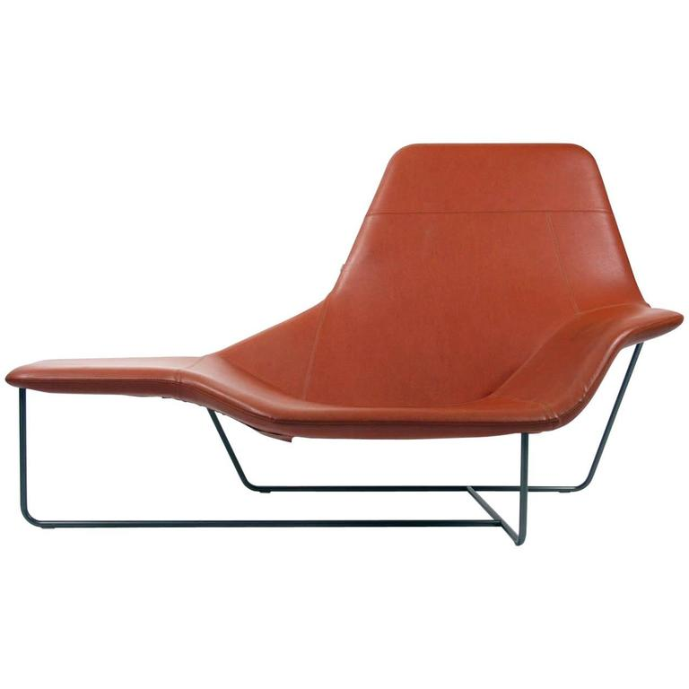 Zanotta Lama Chaise Lounge Chair Designed By Ludovica And