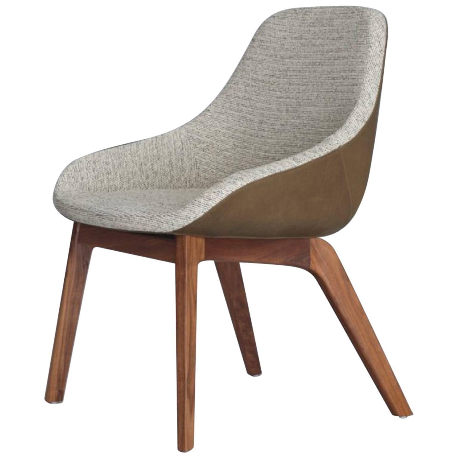 Zeitraum Morph Dining Upholstered Wood Armchair