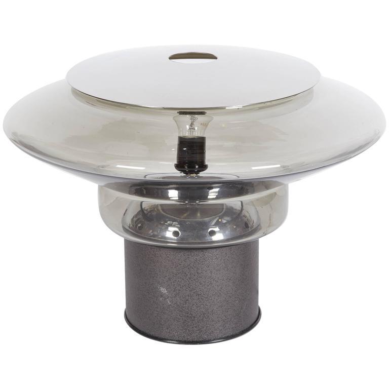 Italian 1970s Modern Sculptural Table Lamp