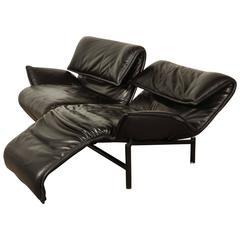 Mid-Century Sofa Veranda Designed by Vico Magistretti for Cassina