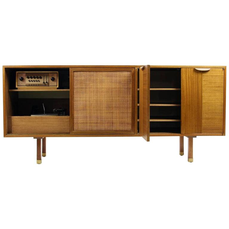 HIFI Cabinet By Harvey Probber For Sale