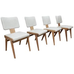 Andre Sornay Magnifique Set of Four Chairs