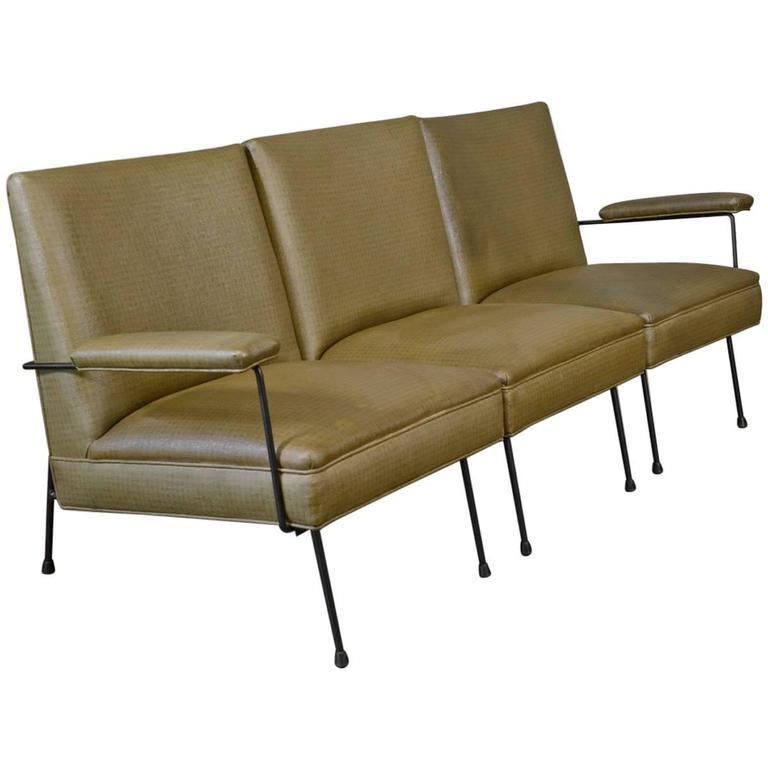 Milo Baughman for Pacific Iron Modular Sofa For Sale