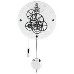 Allegro Teckell Takto Contemporary Mechanical Wall Clock with Pendulum