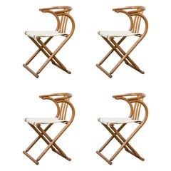 Thonet Bentwood Folding Chairs Set of Four