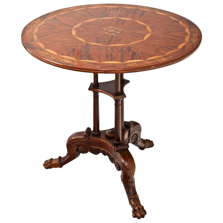 Side Table Berlin, First Half of the 19th Century For Sale