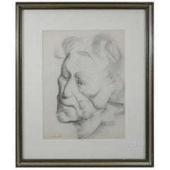 Marcel Delmotte, Drawing, Signed