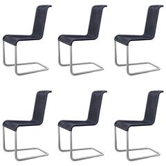 Jean Prouvé 'B20' Chairs for Tecta Set of Six