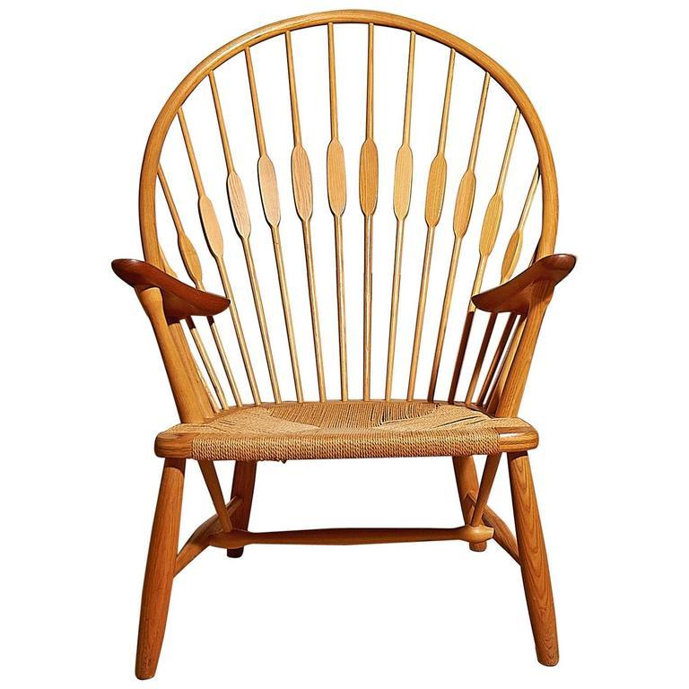 Hans J. Wegner Peacock Chair by Johannes Hansen