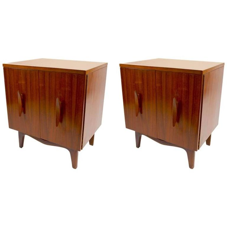 Pair of Mid-Century Nightstands After Kagan