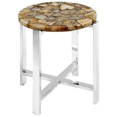 Agate Stone Side Table