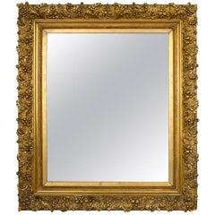 Large Beautifully Detailed Giltwood Mirror