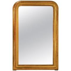 French Gold Gilt Mid-19th Century Louis Philippe Mirror