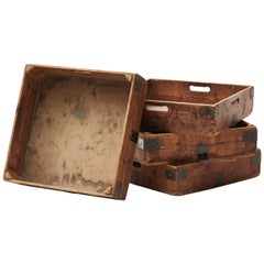 Early 20th Century Planter Boxes (Set of Four)