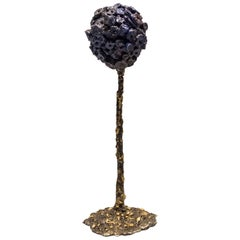 """James Bearden """"Allium Blue"""" Sculpture"""