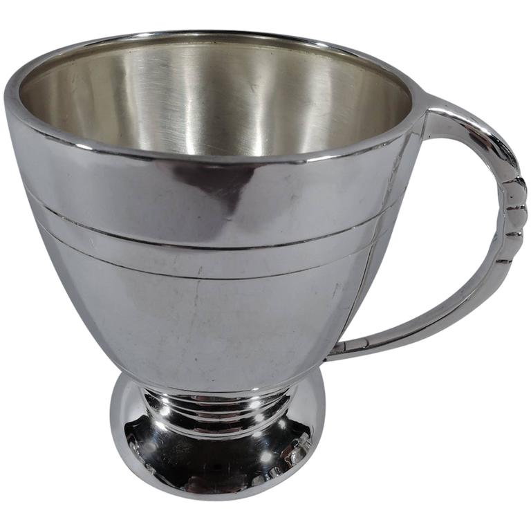English Modern Sterling Silver Baby Cup